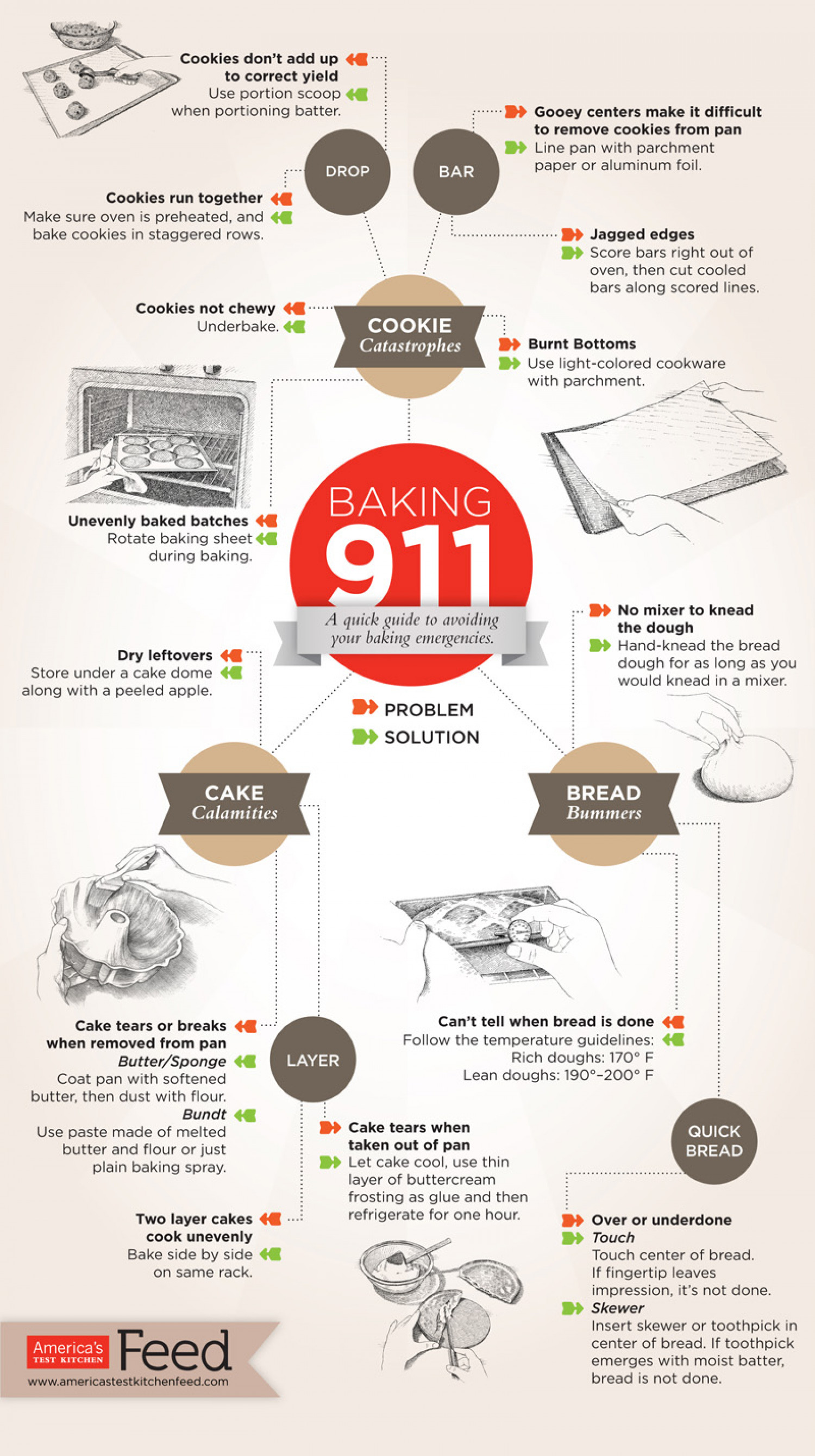 Baking 911 Infographic