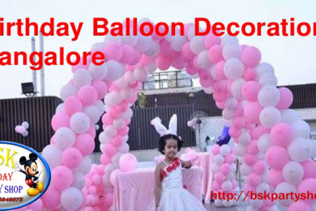 Balloon Decoration shops in Bangalore Infographic