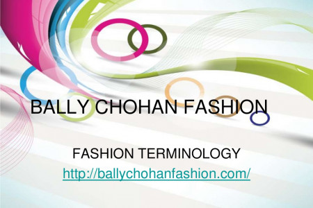 Bally Chohan Fashion - Latest Fashion Terminology Infographic