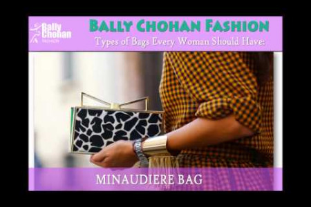 Bally Chohan Fashion - Stylish Handbags Infographic