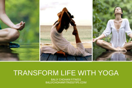 Bally Chohan Fitness Tips - Benefits of Yoga Infographic