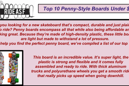 Banana Boards vs Penny Boards Infographic