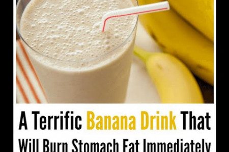 Banana magic to lose belly fat Infographic