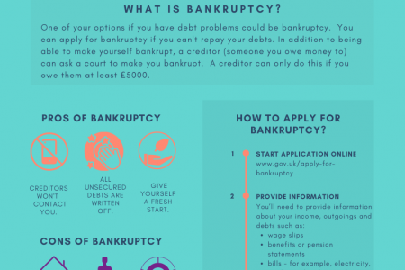 Bankruptcy in England and Wales Infographic