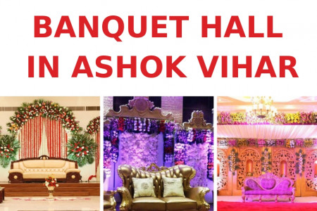 banquet hall in ashok vihar Infographic