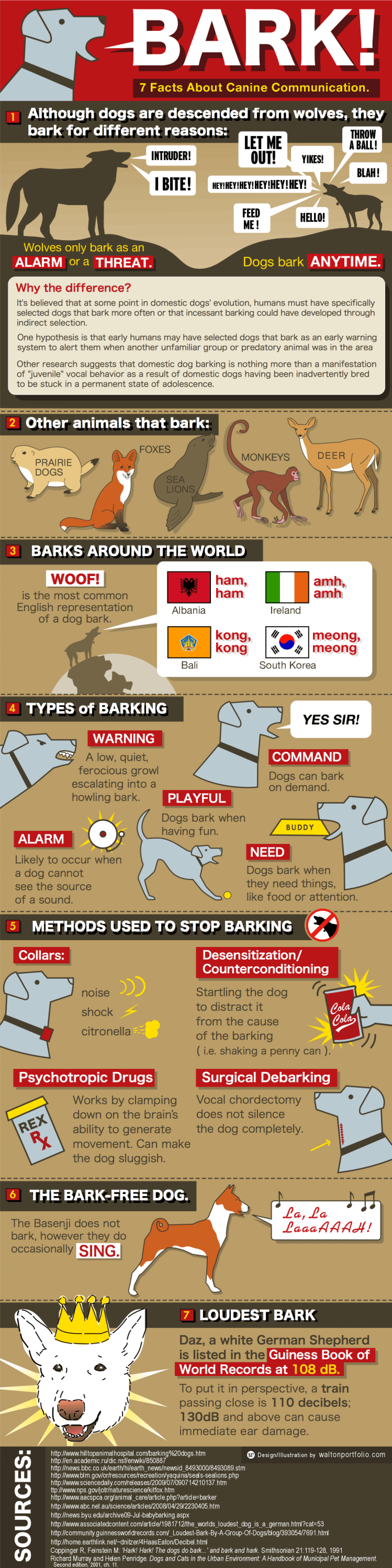 Bark! 7 Facts about Canine Communication  Infographic