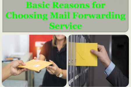 Basic Reasons for Choosing Mail Forwarding Service Infographic