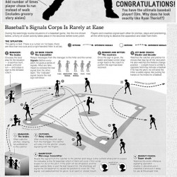 basic rules for baseball infographics visually