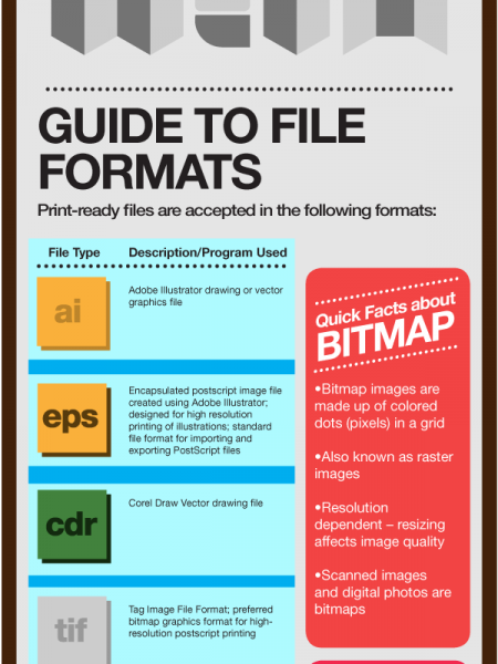 Basic Things to Check Before Printing Online Infographic