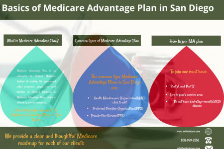 Basics of Medicare Advantage Plan in San Diego Infographic