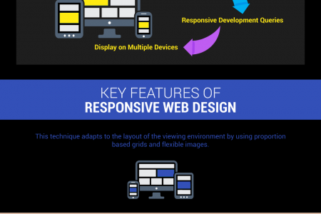 BASICS OF RESPONSIVE WEBSITE DESIGN Infographic