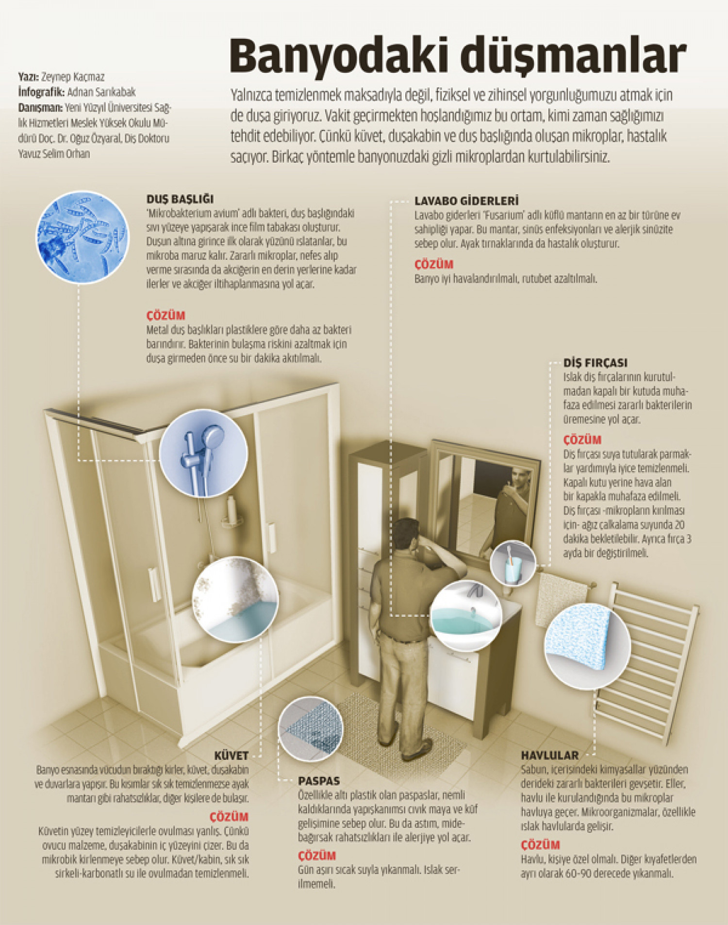 bath and microbes Infographic