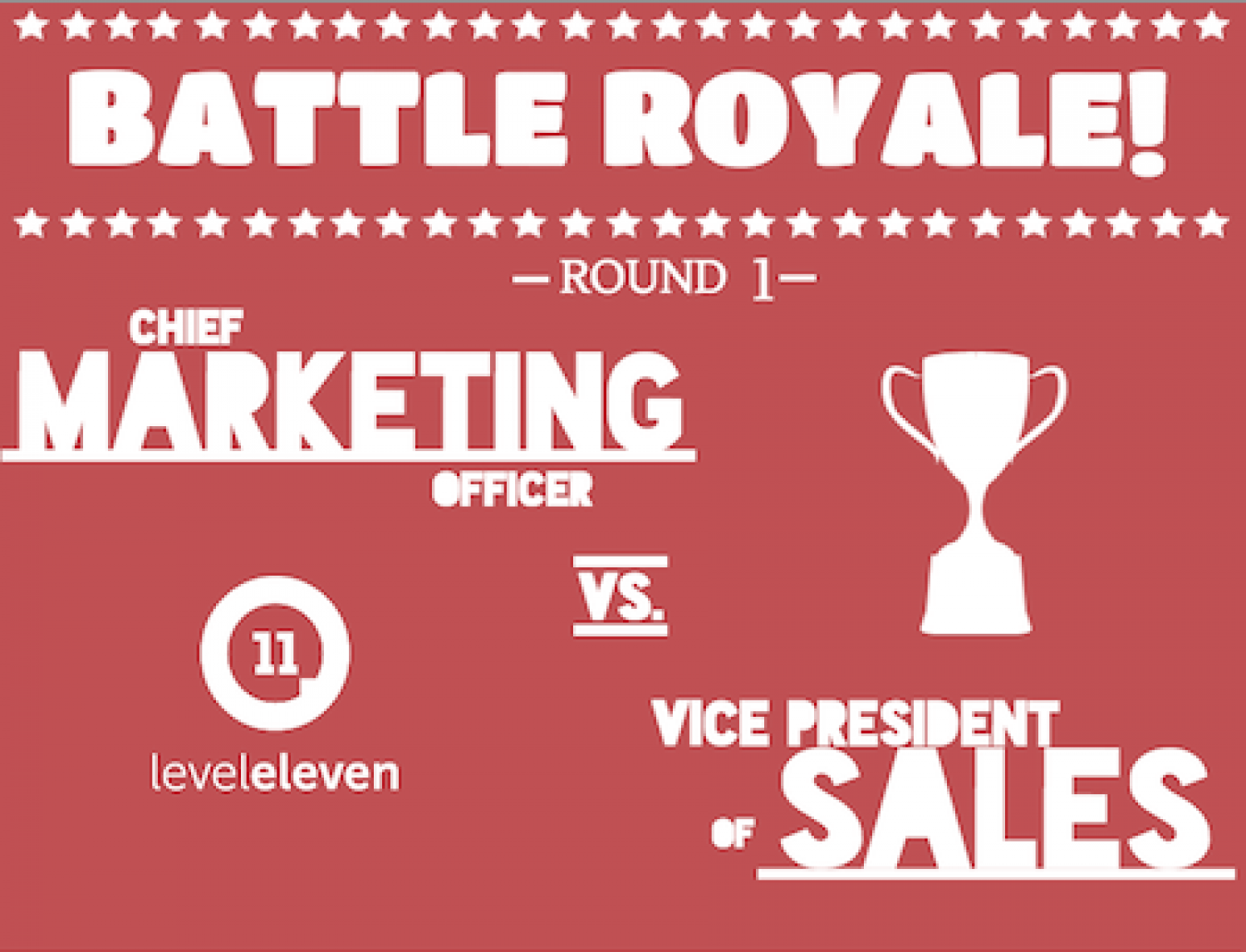 Battle Royale! Sales vs. Marketing & the Fight for Alignment Infographic
