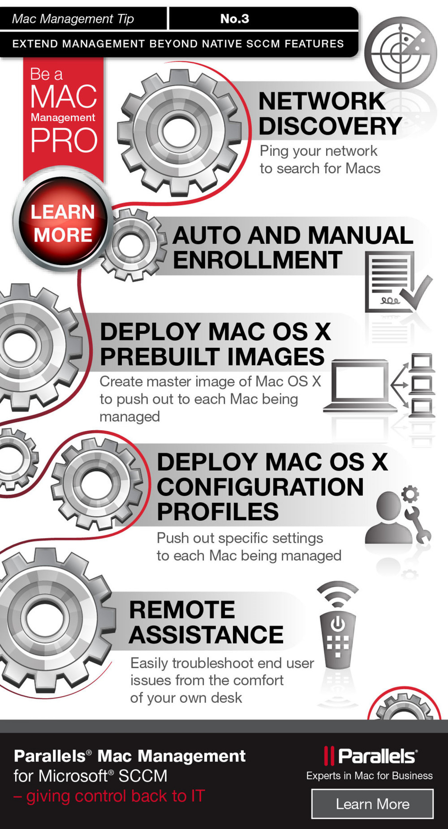 Be A Mac Management Pro Infographic