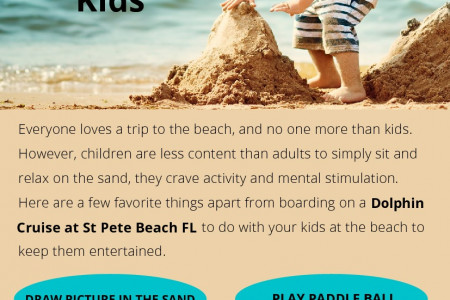 Beach Activities To Do with the Kids Infographic