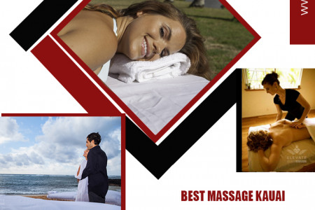 Beachside Massage Therapy Infographic