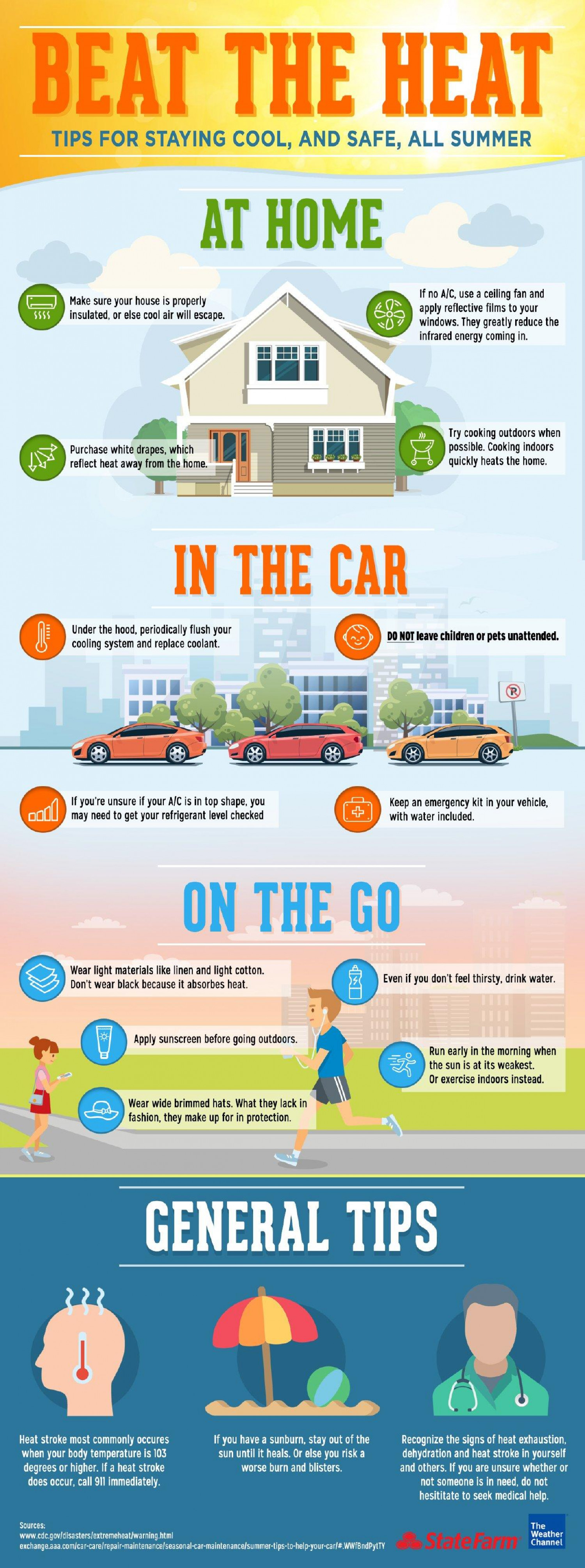 Beat The Heat: Tips For Staying Cool (And Safe) This Summer Infographic