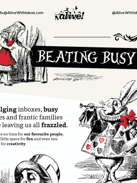 Beating Busy Infographic