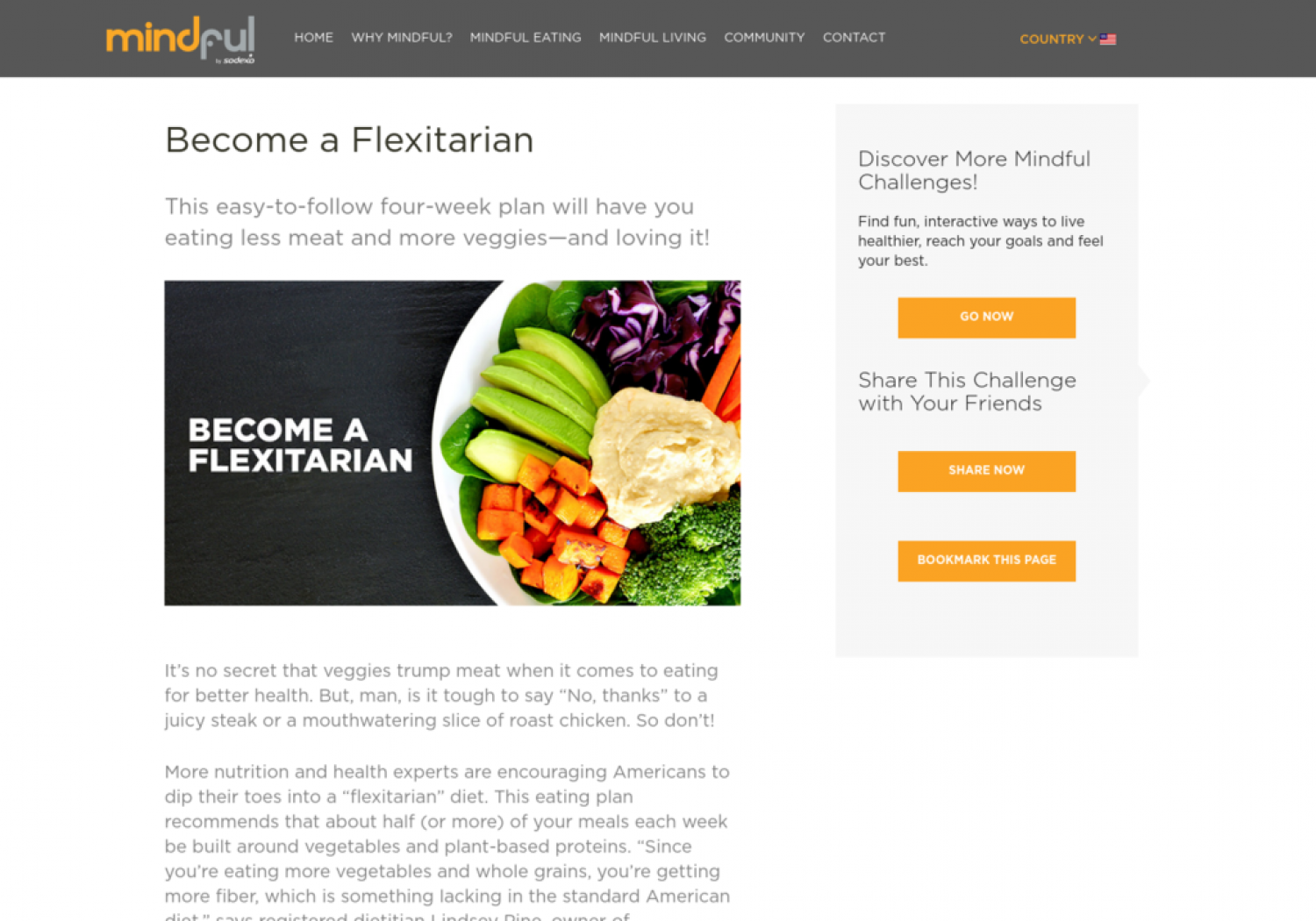 Become a Flexitarian Infographic