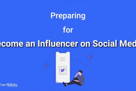 Become Influencer On Social Media Tutorial Infographic