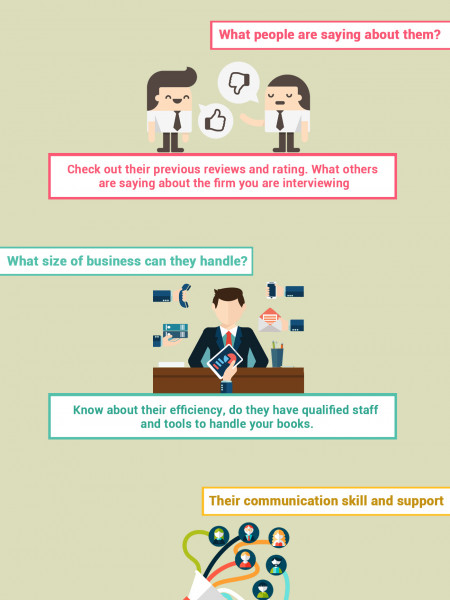 Before Hiring an Accounting Firm Consider these 9 Points Infographic