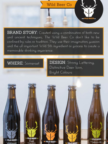 Behind the Scenes: Top Six Craft Beer Brands in Britain Infographic