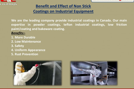 Benefit and Effect of Non Stick Coatings on Industrial Equipment Infographic