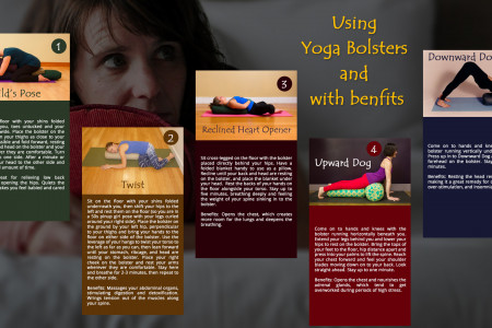 BENEFITS AND USAGE OF YOGA BOLSTERS Infographic