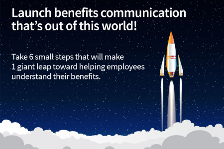 Benefits communication that engages employees Infographic