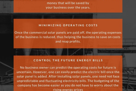 benefits of a commercial solar power in your office Infographic