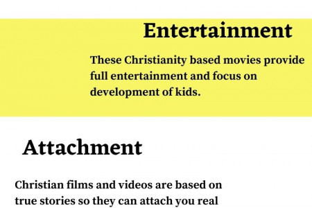 Benefits of Christian Movies and Videos for Kids Infographic