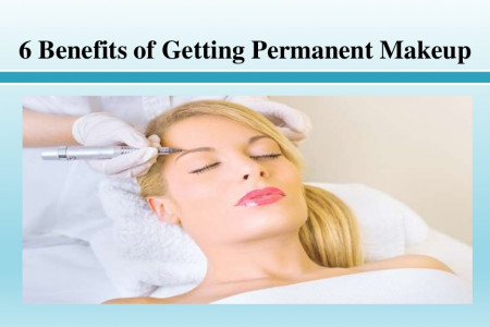 Benefits of Getting Permanent Makeup Infographic