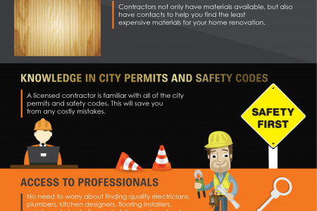 Benefits Of Hiring A Contractor Infographic