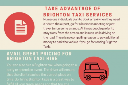 Benefits of Hiring The Most Reliable Taxis in Brighton Infographic