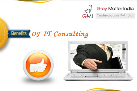 Benefits Of IT Consulting Services Infographic