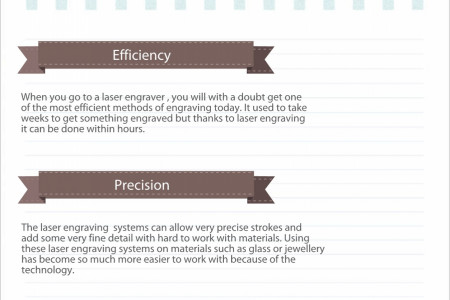 Benefits of laser engraving Infographic