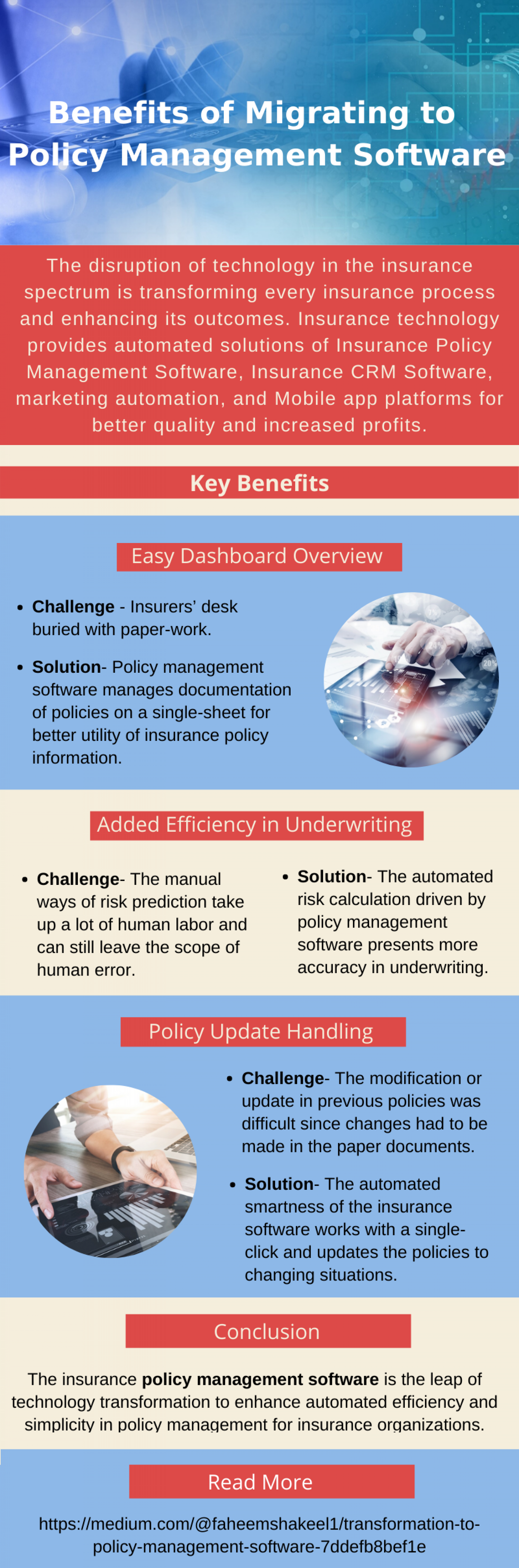 Benefits of Migrating to Policy Management Software Infographic