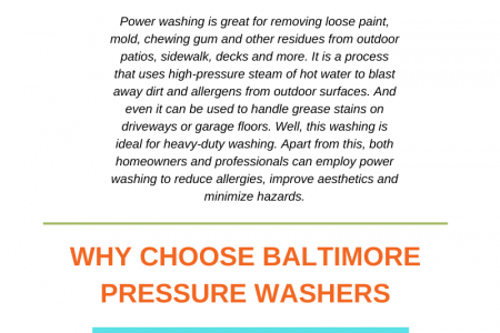 Benefits of pressure washing services for commercial property Infographic