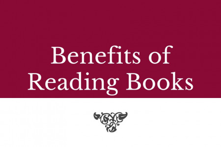 Benefits of reading books Infographic