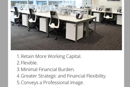 Benefits of Renting an Office Space Infographic