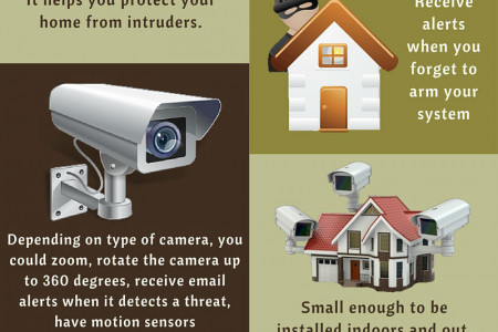Benefits of Security Camera Systems Infographic