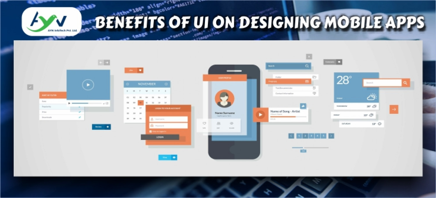 Benefits of UI on Mobile Designing Apps Infographic