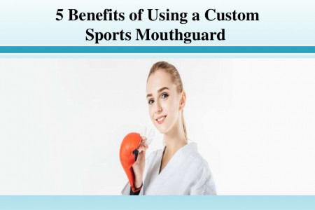 Benefits of Using a Custom Sports Mouthguard Infographic