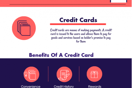 Benefits of using credit cards Infographic