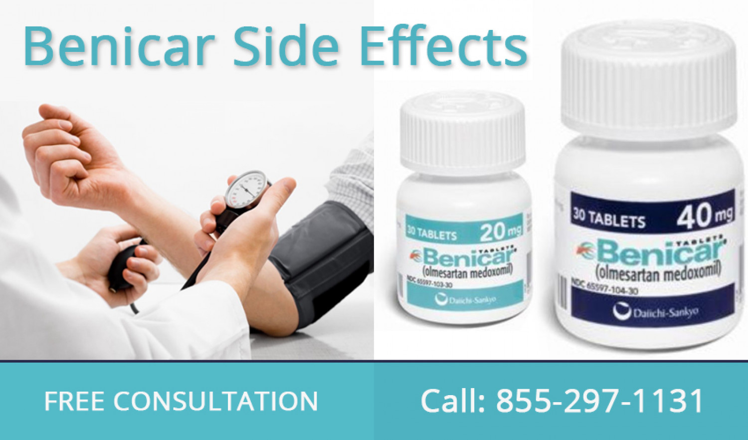 Benicar Side Effects Infographic