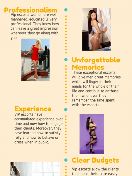 Benefits of Choosing VIP Women Escort Infographic