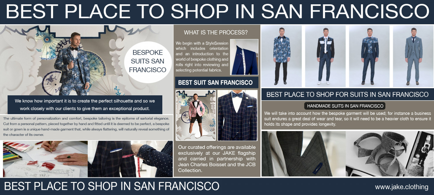 Bespoke Shirts San Francisco Infographic