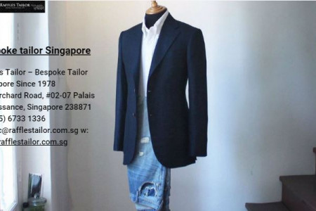 Bespoke tailor Singapore Infographic