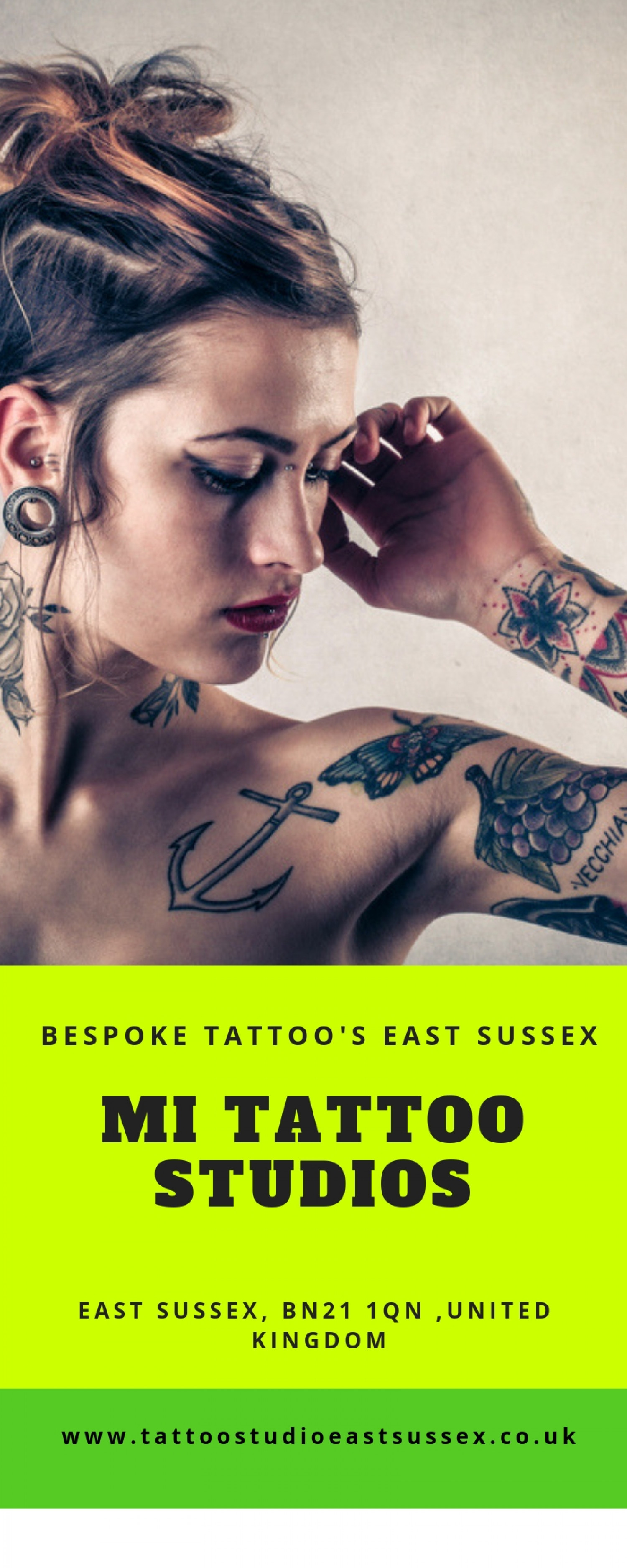 Bespoke Tattoo in East Sussex Infographic