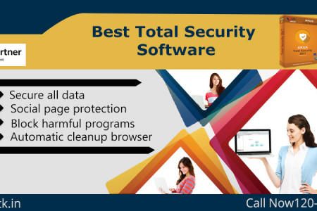 Best  Total Security Software 2017 Infographic